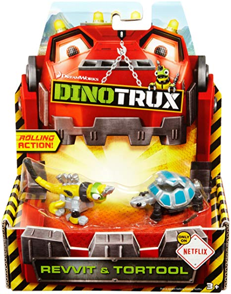 Dinotrux Revvit and Tortool Character 2-Pack