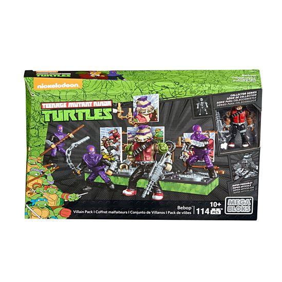 Mega Bloks Teenage Mutant Ninja Turtles Bebop Villain Pack