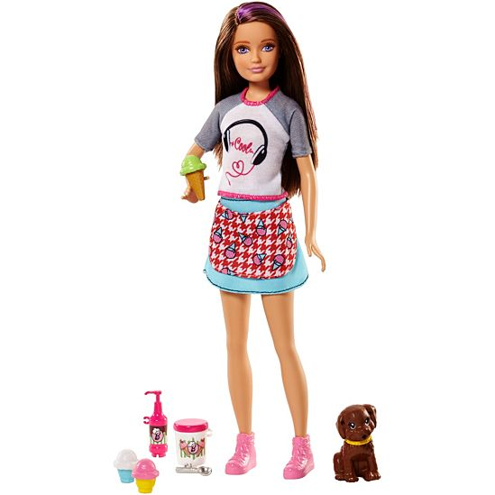 Skipper Doll with Ice Cream and Puppy