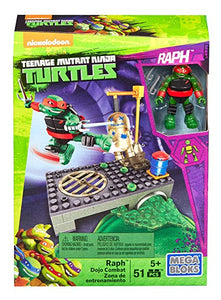 Mega Bloks Teenage Mutant Ninja Turtles Raph Dojo Combat Playset