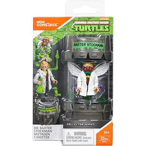 Mega Construx Teenage Mutant Ninja Turtles Dr. Baxter Stockman Mutagen Canister