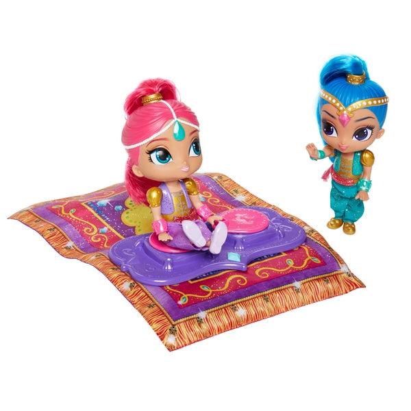 Fisher Price Shimmer and Shine Magic Flying Carpet with Dolls