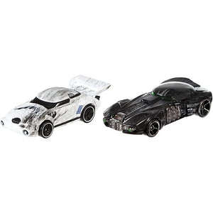 Hot Wheels Star Wars Stormtrooper and Death Trooper Character Car 2-Pack