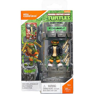 Mega Construx Teenage Mutant Ninja Turtles Classic Series Michelangelo Mutagen Canister