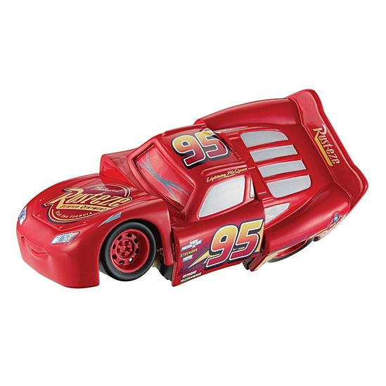 Disney Pixar Cars 3 Race and 'Reck Lightning McQueen Vehicle