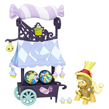 My Little Pony Friendship is Magic Applejack Sweet Cart