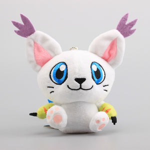 "4""10cm Digimon Tailmon Plush Toy"