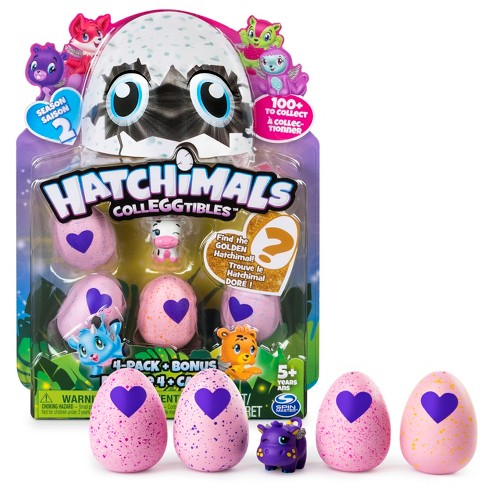 Hatchimals CollEGGtibles Season 2 - 4-Pack with Bonus