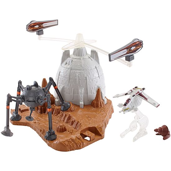 Hot Wheels Star Wars Battle of Geonosis Play Set