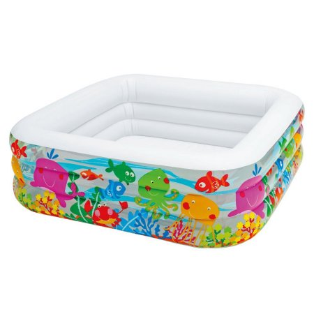 Intex Sea Aquarium Pool 62 1/2 x 62 1/2 x 19 1/2 Inches