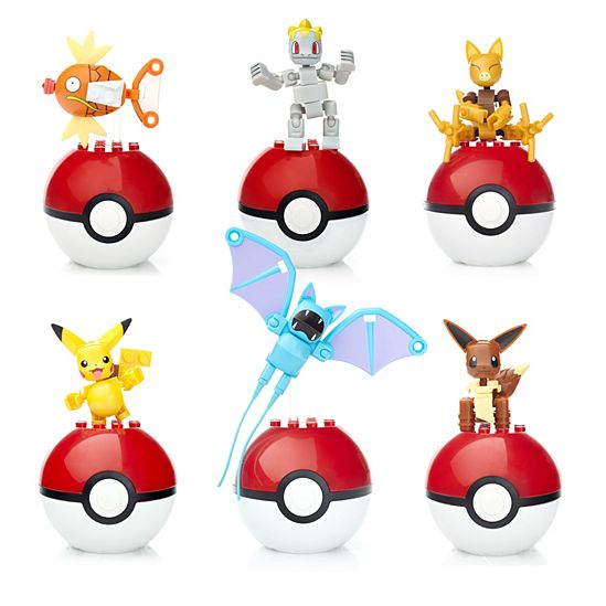 Mega Construx Pokemon Buildable Figures Gift Set