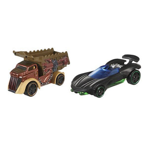 Hot Wheels Star Wars Character Car 2-Pack Luke Skywalker and Rancor