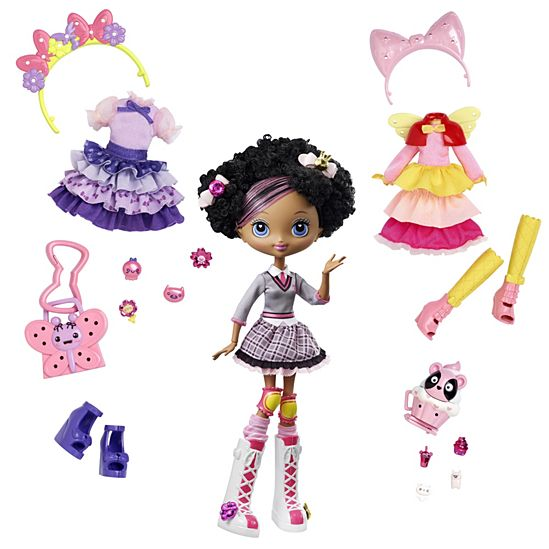 Kuu Kuu Harajuku Baby Fashion Doll with Fashions Gift Set
