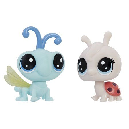 Littlest Pet Shop Lynette Ladyfly and Cy Flydragon