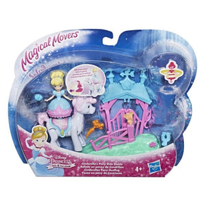 Disney Princess Little Kingdom Magical Movers Pony Ride Cinderella' s Stable Playset