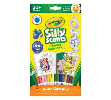 Crayola Silly Scents Marker Activity Kit