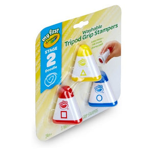 Crayola My First Washable Tripod Grip Stampers