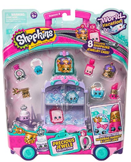Shopkins Season 8 World Vacation - Precious Jewels Collection