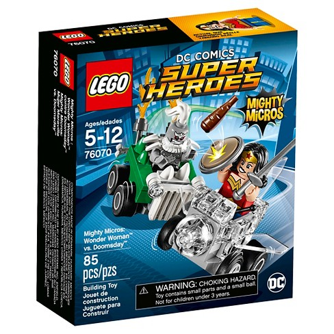 Lego Super Heroes Mighty Micros: Wonder Women Vs.Doomsday