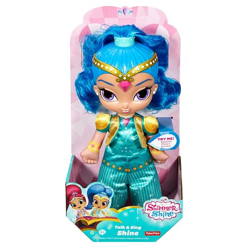 Fisher Price Shimmer And Shine - Talk And Sing Shine Doll