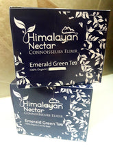 Load image into Gallery viewer, Himalayan Nectar - Emerald Green Tea bags - 10