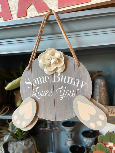 Some Bunny Loves You Door Hanger