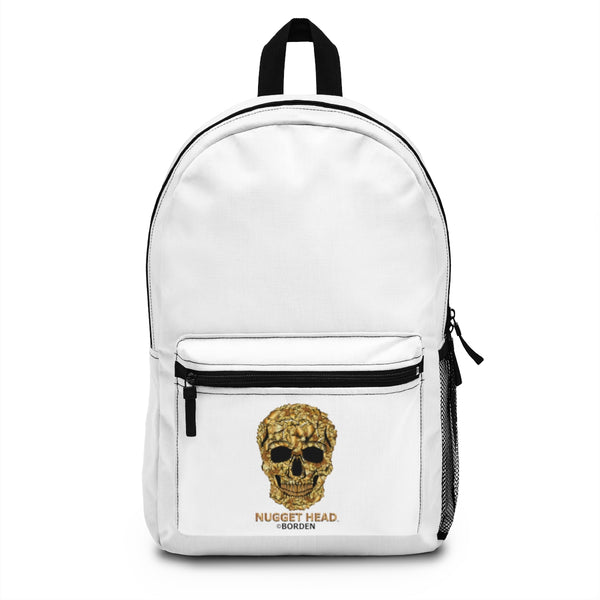 Backpack (Made in USA) Skull Gold Nugget Head - Borden Fashion
