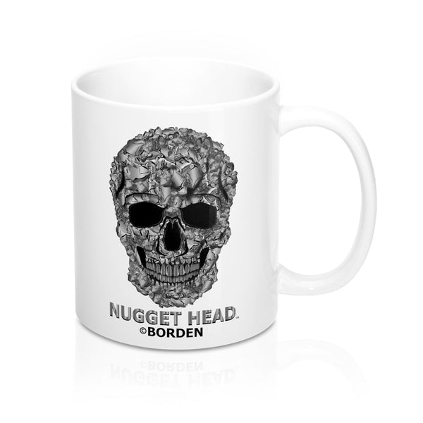 Mug 11oz Skull Nugget Head - Borden Fashion
