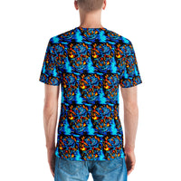 Men's T-shirt bright energy. Unisex T-shirt - Borden Fashion