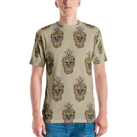 Men's T-shirt, unisex T-shirt, Crystal Skull - Borden Fashion