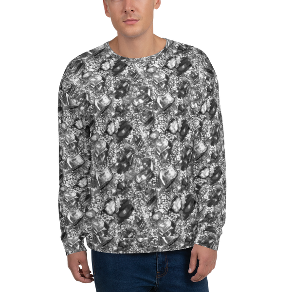 Unisex Sweatshirt Nugget black white - Borden Fashion
