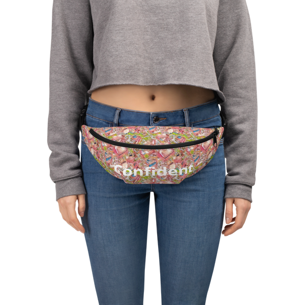 Fanny Pack Nugget Confident Pink - Borden Fashion