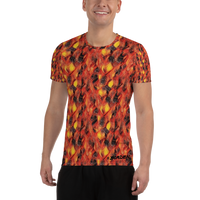 Men's T-Shirt Nugget Athletic Nugget Fire - Borden Fashion