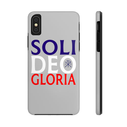 Soli Deo Gloria Phone Case