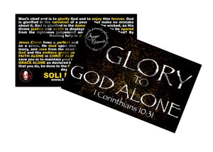Glory to God(5x3)100 Count
