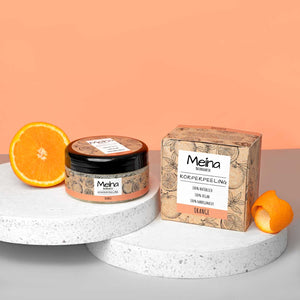 bio peeling mit orange