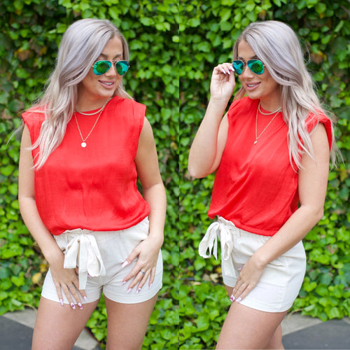 Own The Day Top-Red
