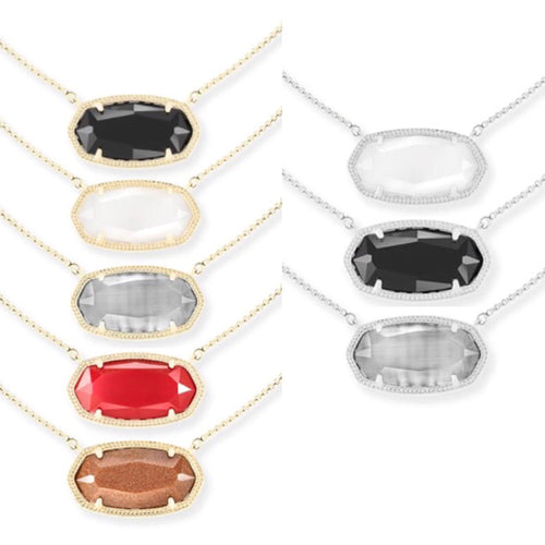 Delaney Pendant Necklace Collection