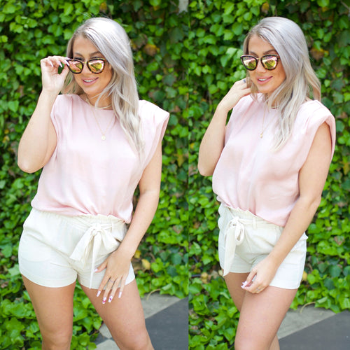 Own The Day Top-Blush