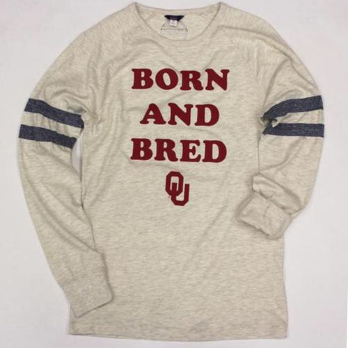 Born and Bred Classic Long Sleeve Jersey Tee