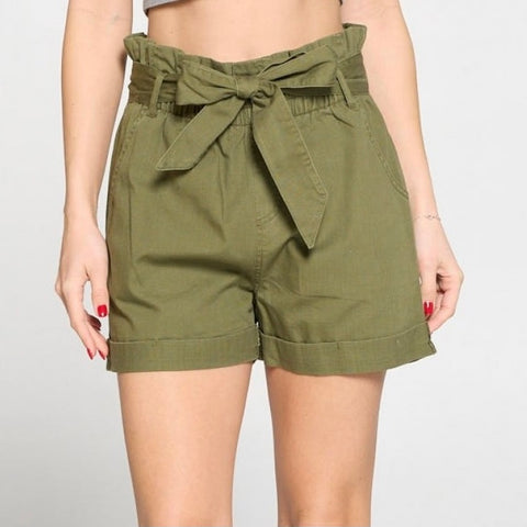 Kancan High Rise Cut Off Shorts