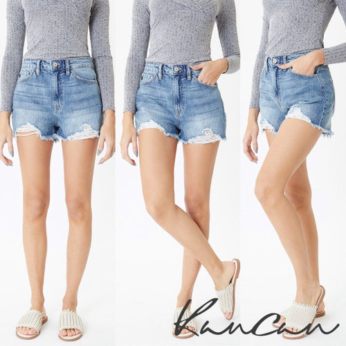 Kancan High Rise Mom Short
