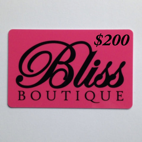 Gift Card-$250