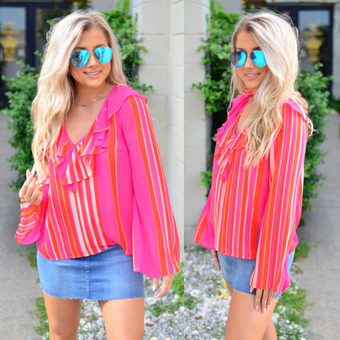 Perfect Sunset Top