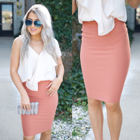 Falling For You Skirt