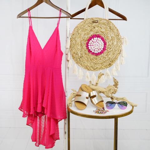 Blushing Moments Romper