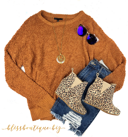Just One Love Sweater- Taupe