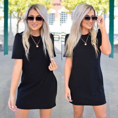 Glitz and Glam Tank-Black