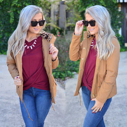 Wild for Fall Jacket