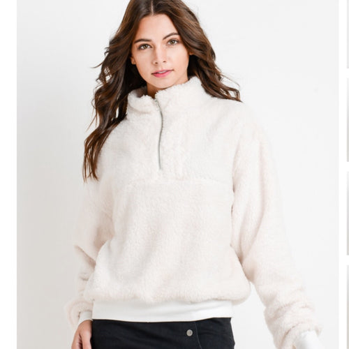 Perfect Pullover-White
